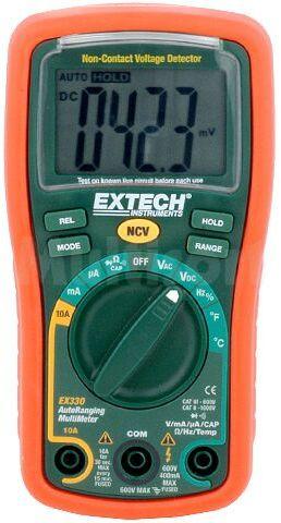 Multimetr cyfrowy EXTECH EX330 LCD (3999) V DC 400m...600V