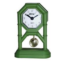 Mini zegar z wahadłem zielony #AK42