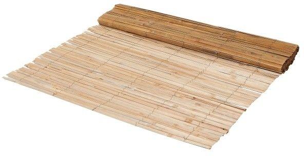 Mata balkonowa bambusowa Blooma półłupana 120 x 300 cm