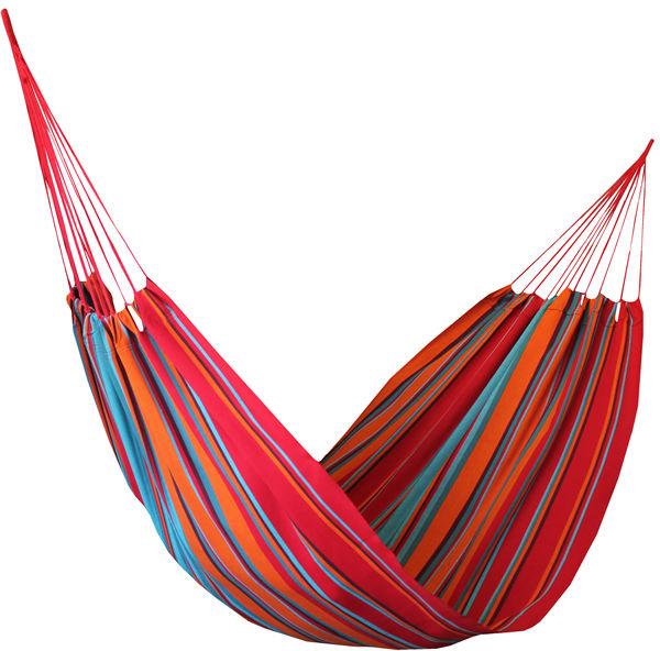Hamak, niebiesko-czerwony H