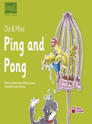 Ping and Pong. Nauka angielskiego dla dzieci 2-7 lat - Audiobook.