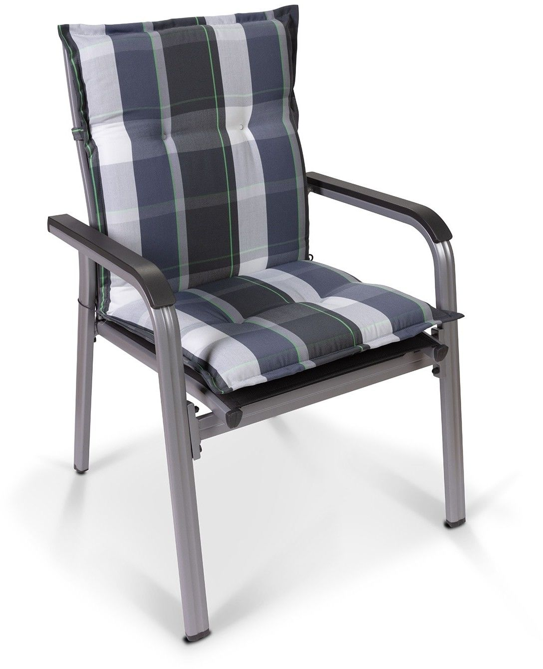 Blumfeldt Prato, poduszka do siedzenia, na fotel ogrodowy z niskim oparciem, poliester, 50 x 100 x 8 cm