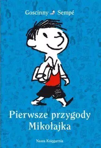 Pierwsze przygody Mikołajka oprawa twarda - Ren Goscinny