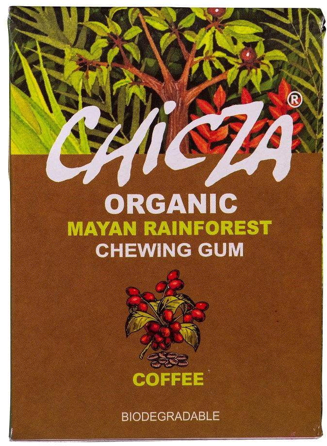 Biodegradowalna guma do żucia o smaku kawy bio 30 g  chicza