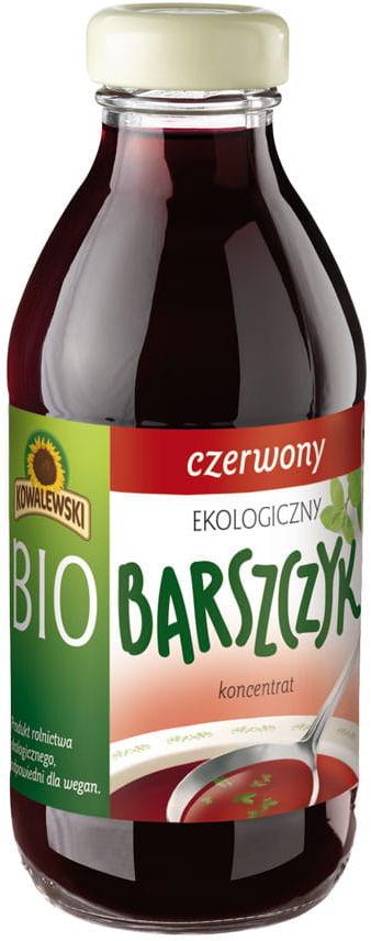 Barszcz czerwony bezglutenowy koncentrat bio 320 ml - kowalewski