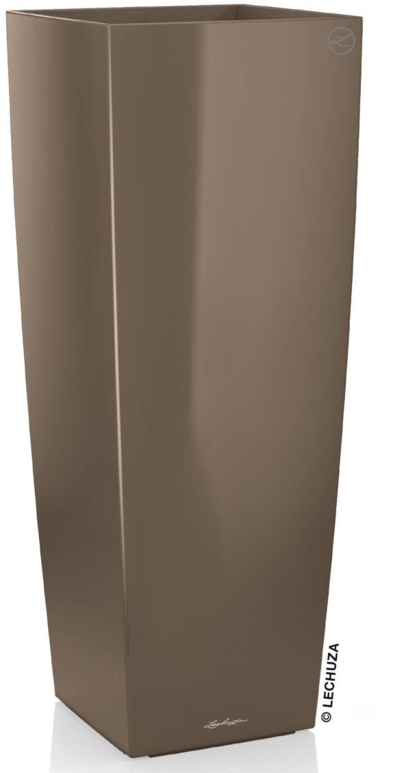 CUBICO Alto 40/40/105 taupe-szarobrązowy połysk