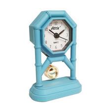 Mini zegar z wahadłem niebieski #AK42