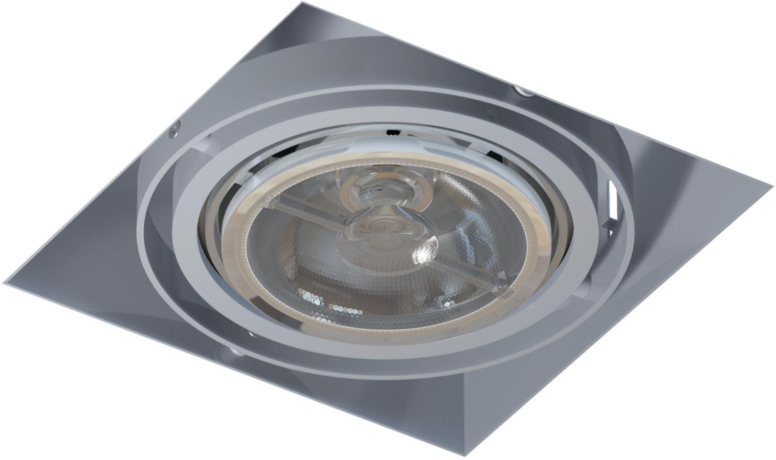 Oprawa wpuszczana bezramkowa Mara T018PB1Ah101 Cleoni nowoczesna lampa sufitowa