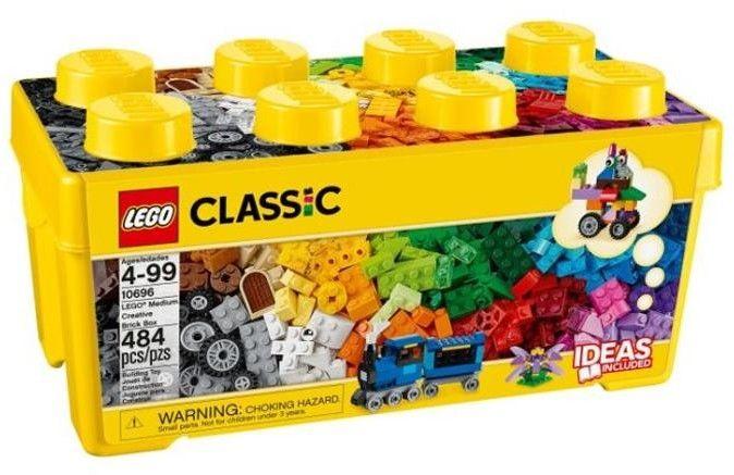 Lego Classic 10696 Kreatywne Klocki Średnie Pudełko