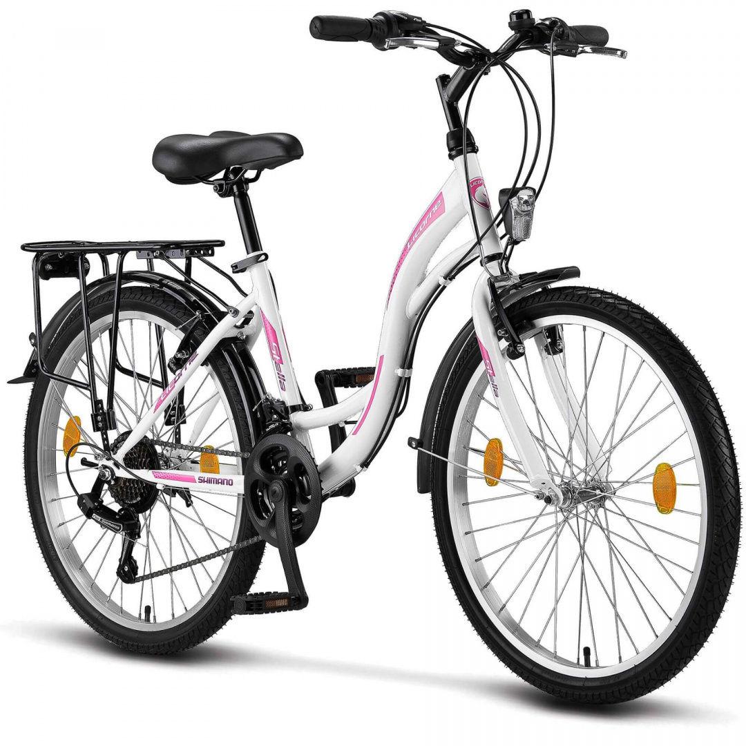 Rower miejski dla dziecka 24 ROSA