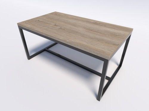 Nowoczesny stół do jadalni, salonu EVO 160/90 - Dąb Brunico