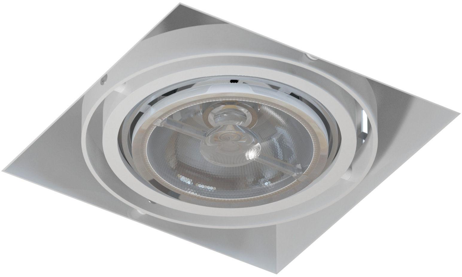 Oprawa wpuszczana bezramkowa Mara T018PB1Ah117 Cleoni nowoczesna lampa sufitowa