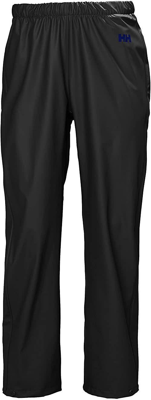 Helly Hansen damskie spodnie przeciwdeszczowe mech wiatroszczelne wodoodporne spodnie Czarny L