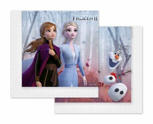 Serwetki papierowe Frozen 2 -Kraina Lodu, 20 szt.