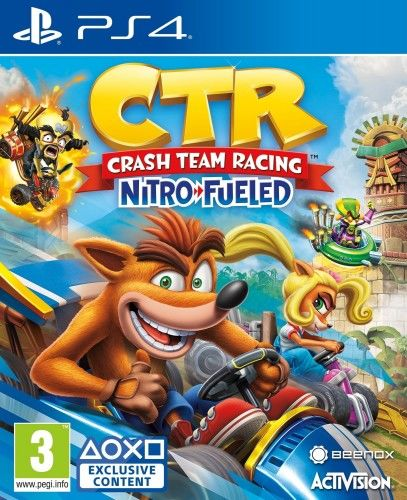 Crash Team Racing Nitro Fueled PS 4