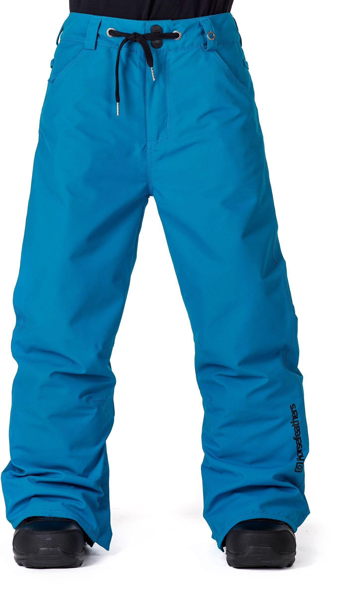 zimowe spodnie dziecięce HORSEFEATHERS CHEVIOT KIDS PANTS (blue)