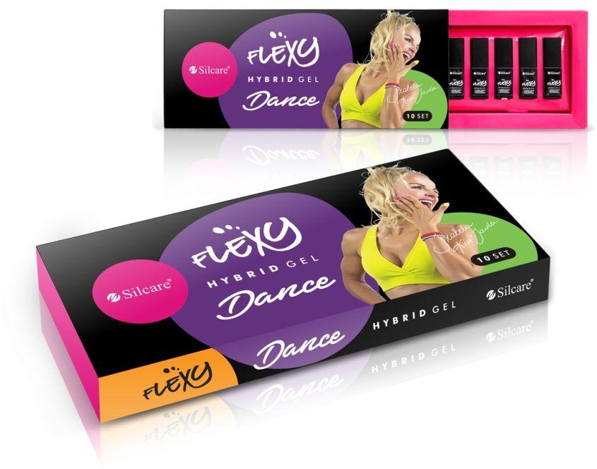 Flexy Lakiery Hybrydowe - Zestaw Dance