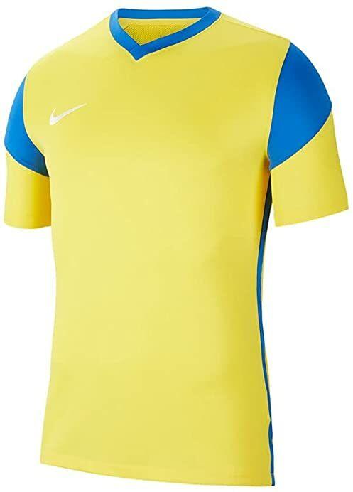 Nike Męska koszulka Park Derby Iii Jersey S/S Tour Yellow/Royal Blue/Royal Blue/White S