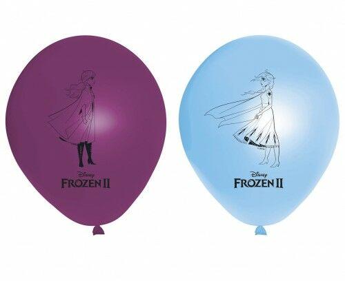 """Balony 11"""" z nadrukiem Frozen 2 - Kraina Lodu, 8 szt."""