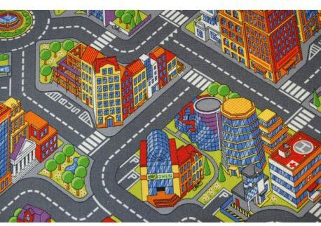 Dywan dziecięcy ULICZKI BIG CITY 100x150 cm