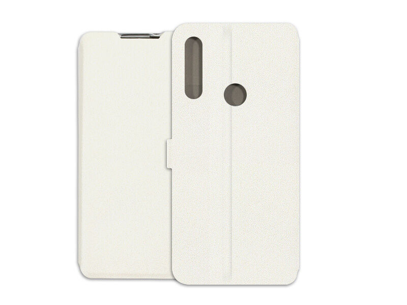 Alcatel 1SE (2020) - etui na telefon Wallet Book - biały