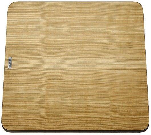 BLANCO Deska drewniana jesion, 383x402, [ZENAR XL 6 S Steamar System] 232791 Płać mniej za zakupy u nas - (22)266 82 20 Zapraszamy :)