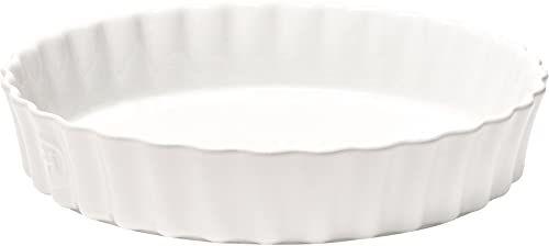 Emile Henry głęboka naczynie z flanami, ceramiczne, mąka, 28 x 28 x 5,5 cm