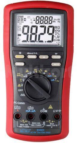 Multimetr cyfrowy BRYMEN BM829 LCD (9999) Bargraf 41segm.60x/s 5x/s