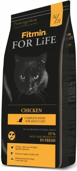 Fitmin Cat For Life Chicken 2x8kg (16kg)