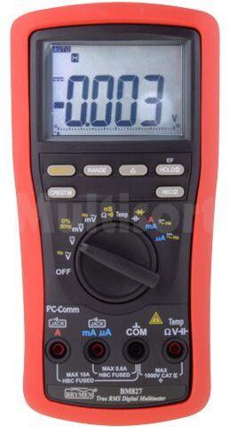Multimetr cyfrowy BRYMEN BM827 LCD (9999) Bargraf 41segm.60x/s 5x/s