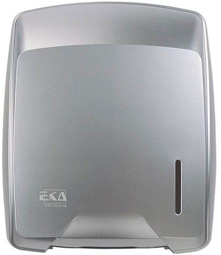 Pojemnik na ręczniki papierowe składane SARAGOSSA EkaPlast plastik srebrny