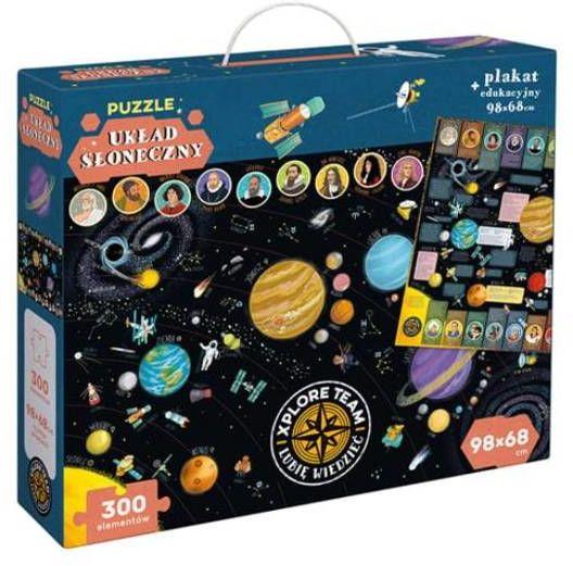 Xplore Team Układ słoneczny Puzzle 300 elementów