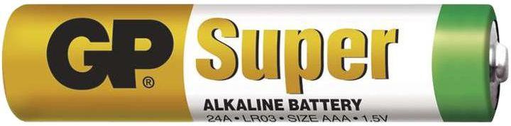 Bateria GP Alkaline AAA, cienkie paluszki