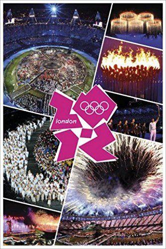 1art1 61713 Plakat olimpijski - Londyn 2012 ceremonia otwarcia 91 x 61 cm
