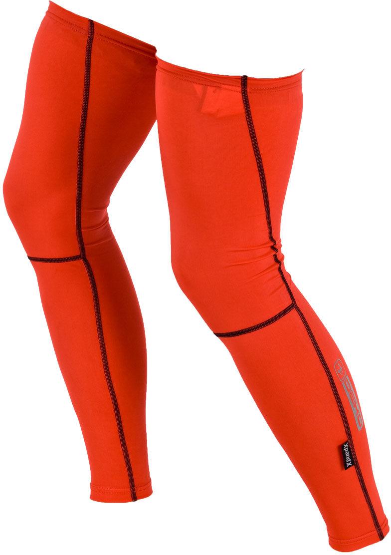 DEKO DUAL nogawki nieocieplane czerwone Rozmiar: M-L,DUAL-nog-red