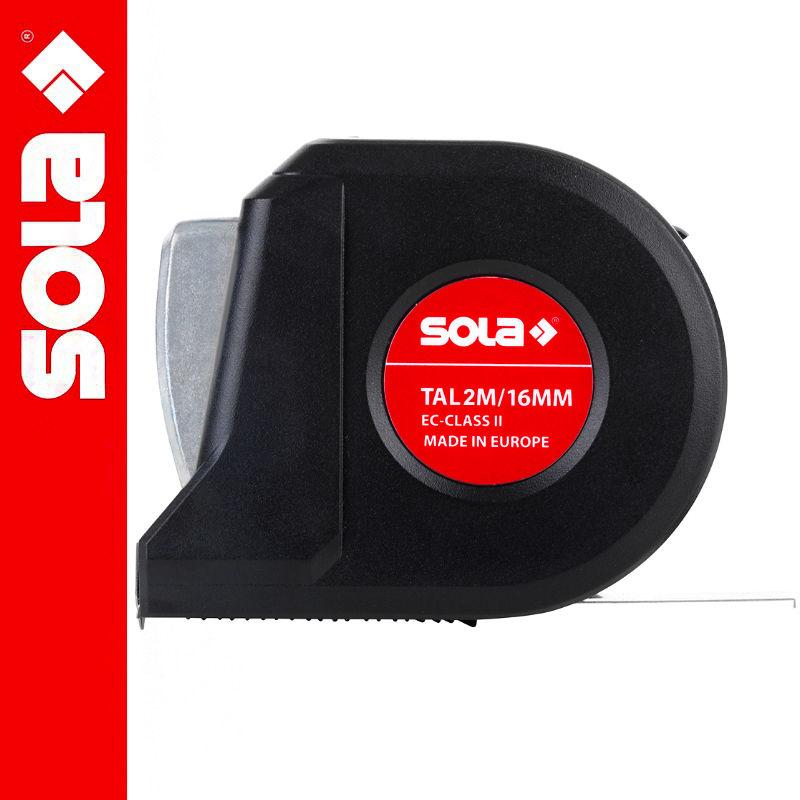 Miara zwijana stalowa z blokadą SOLA TAL 2m