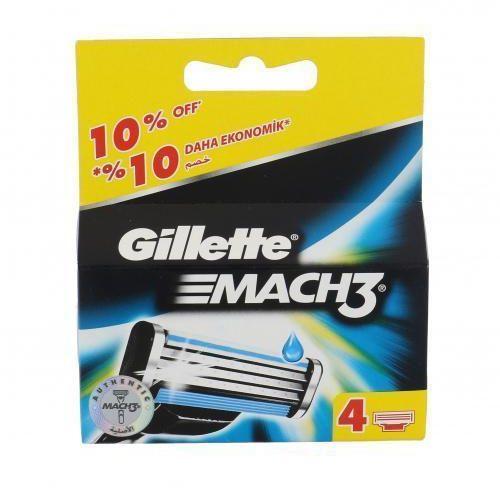 Gillette Mach3 wkład do maszynki 4 szt dla mężczyzn