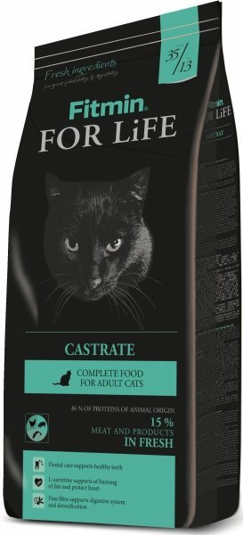 Fitmin Cat For Life Castrate 2x8kg (16kg)