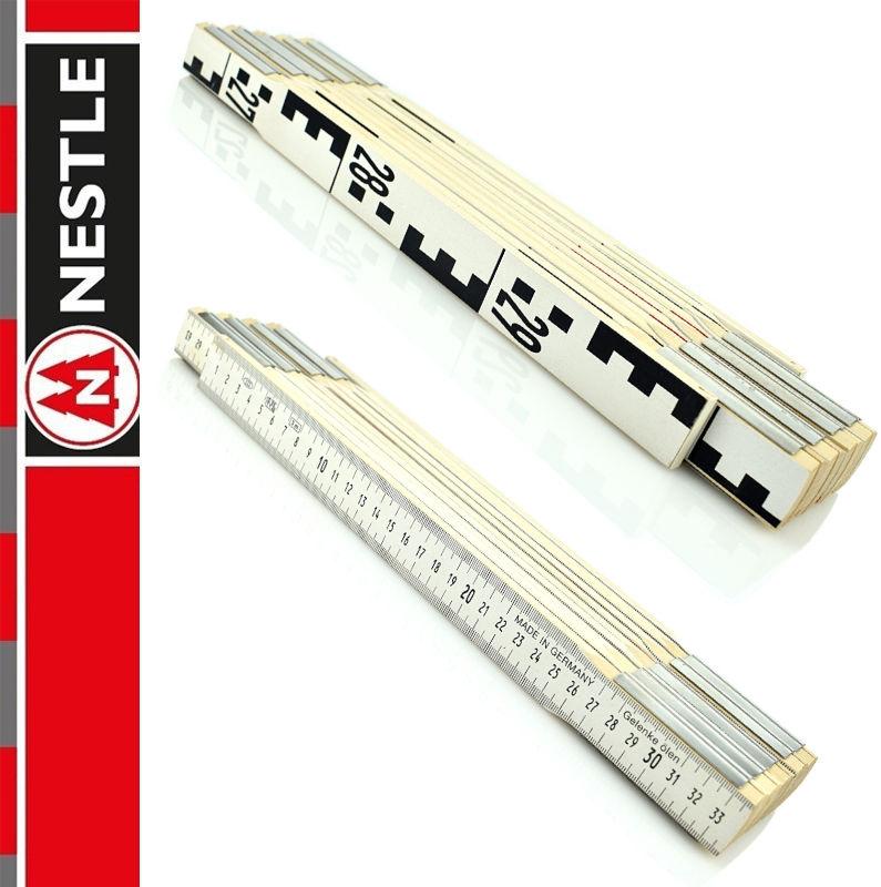 Przymiar składany do niwelacji 3m, miarka / 10 x 38 cm NESTLE