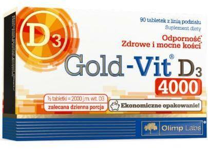 Olimp Gold VIT D3 4000 90 tabletek