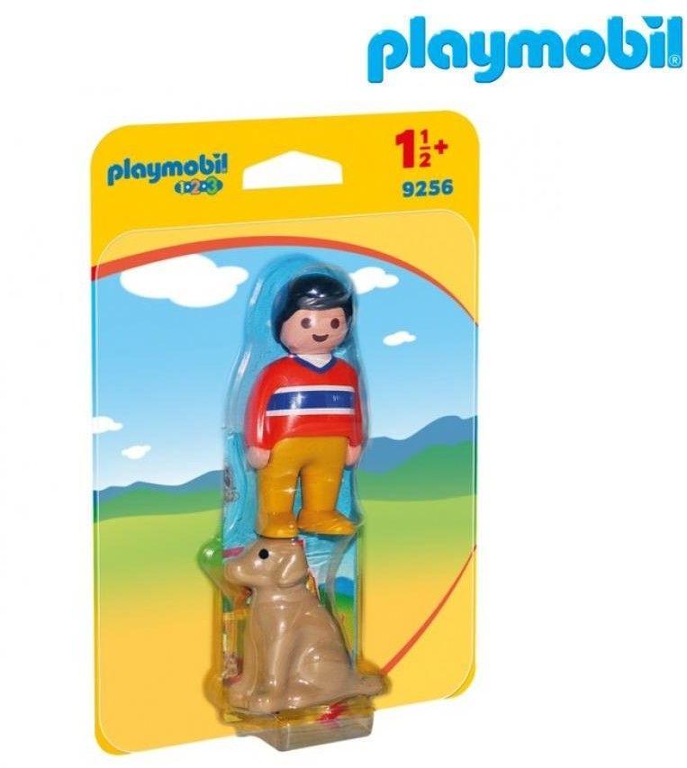 Playmobil - Mężczyzna z psem 9256