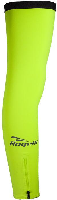 ROGELLI ocieplane nogawki rowerowe, fluor Rozmiar: XS-S,rogelli-nogawki-fluor