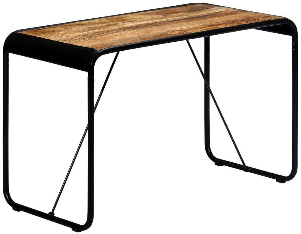 Stół jadalniany loft lite drewno Relond 2X  brązowy