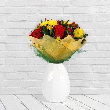 WIOSENNA RADOŚĆ - Bukiet Kwiatów