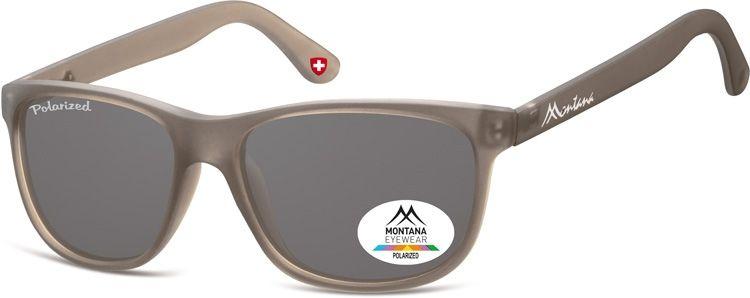 Okulary nerdy Montana MP48D polaryzacyjne szare