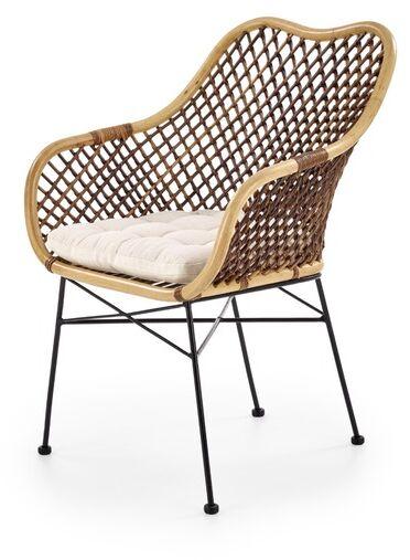 Apollo krzesło rattanowe z poduszką