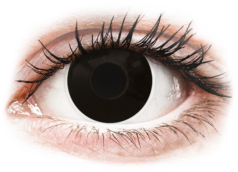 ColourVUE Crazy Lens - BlackOut - korekcyjne
