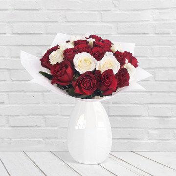 Miłosne wyznanie - Bukiet kwiatów