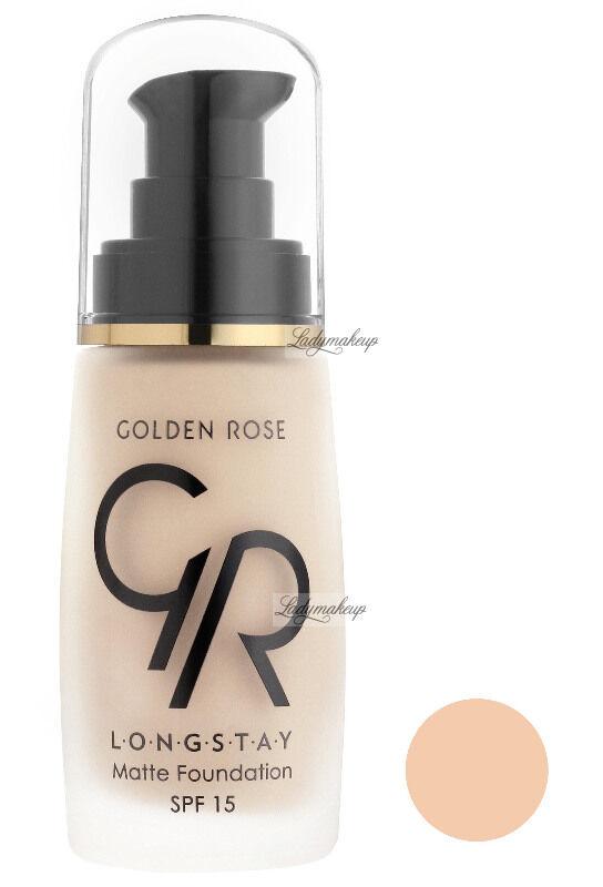 Golden Rose - LONGSTAY MATTE FOUNDATION - Długotrwały, matujący podkład do twarzy - P-GLM - 01