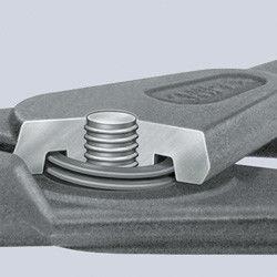 szczypce do pierścieni Segera wewnętrzne, proste, zakres 40-100mm, KNIPEX [48 11 J3]